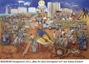 Misereor Hungertuch 2011