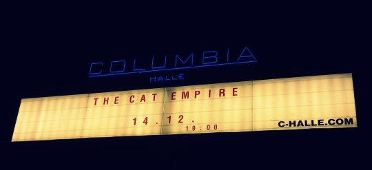 The Cat Empire, Berlin, 2012