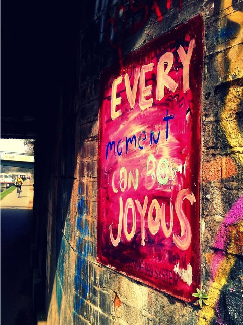 Every Moment Can Be Joyous, London, March 2012