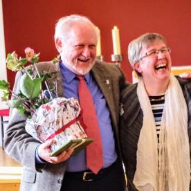 Abschied und Neuanfang: Dr. Nikolaus Legutke und Martina Breyer