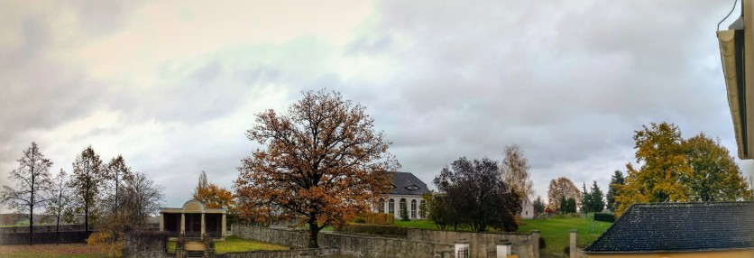Ein Blick aus dem Fenster ins Oberlausitzer Land... Herbstvollversammlung des Katholikenrates im Bistum Dresden-Meißen, 2017.