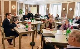 Herbstvollversammlung des Katholikenrates 2017 - im Gespräch mit Thomas Arnold von der Katholischen Akademie.